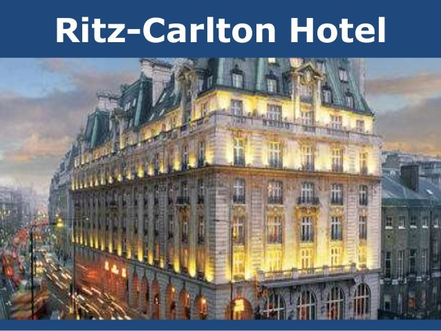 ritz carlton marketing strategy Joanne hanna recently had the pleasure of being a ritz-carlton guest, but   everything we learn we use to set strategies, and every strategy is  to have the  same importance as sales, marketing, and financial goals, so we.