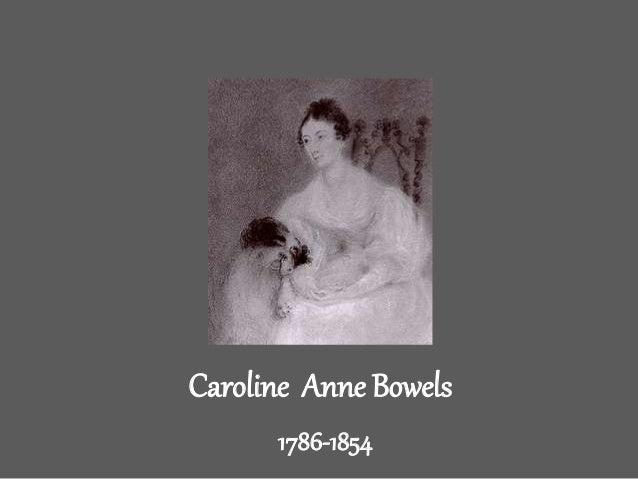 Caroline Anne Bowels  1786-1854
