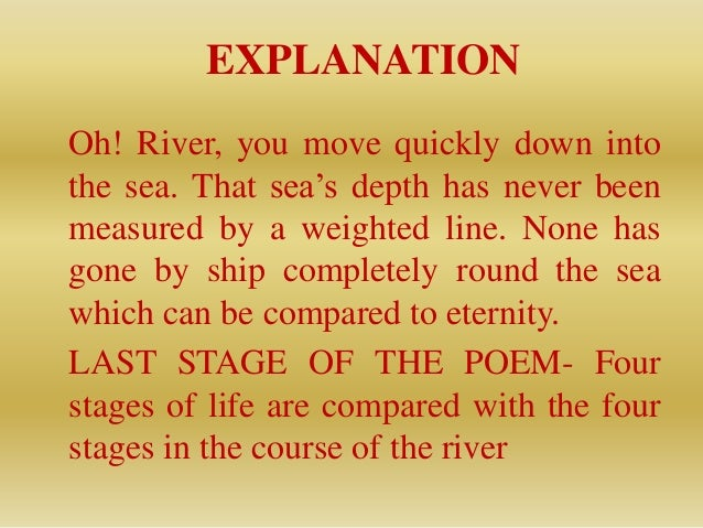 the river of life poem