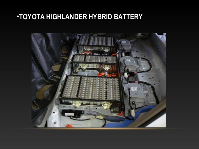 •TOYOTA HIGHLANDER HYBRID BATTERY ...