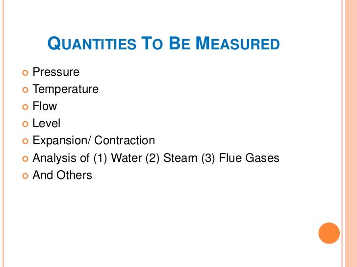MEASUREMENT POINTS & VARIABLESVariables/    Measuring Points       Types Of Sensors/ Approx. numberParameters             ...