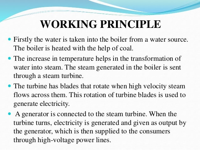 Thermal Power Plant Diagram Ppt - Explained Wiring Diagrams