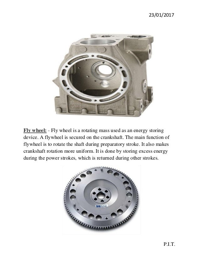 various parts of an i.c. engine pdf