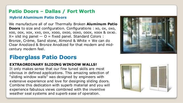 Patio Doors ...