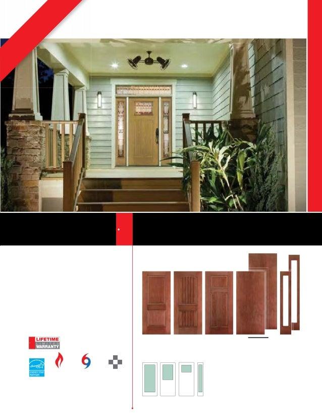 Therma tru door catalog for Therma tru maple park