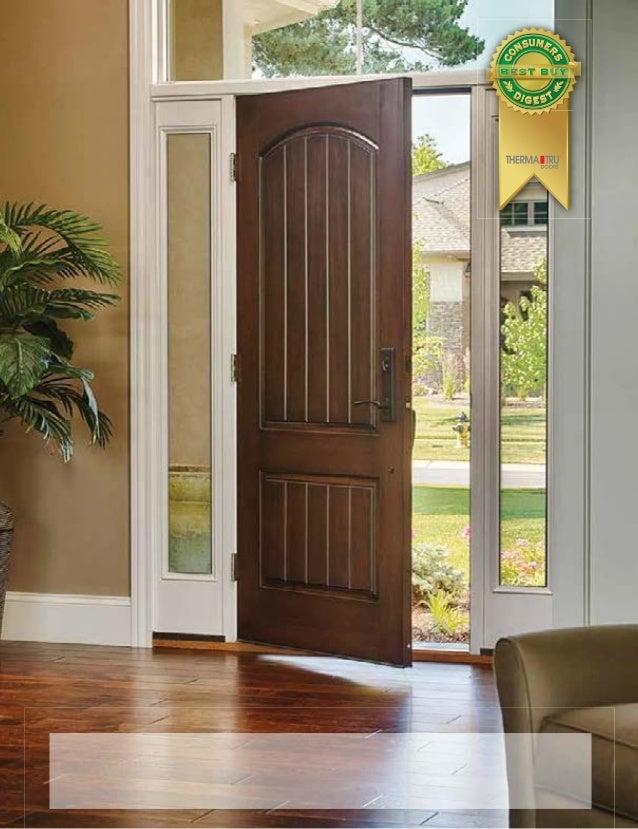 Therma tru door catalog for Therma tru