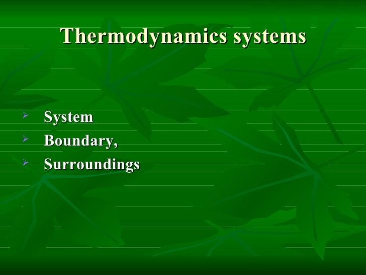 Thermodynamics Slide 2