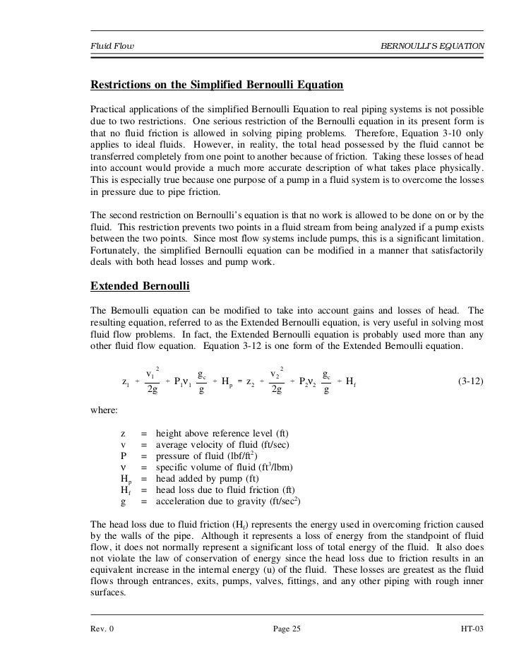 bernoulli 39 s equation pump. bernoulli 39 s equation pump