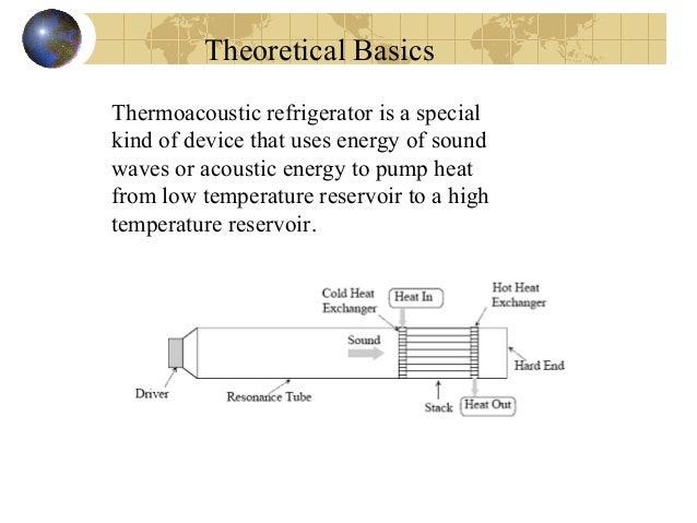 9 theoretical basics thermoacoustic refrigerator