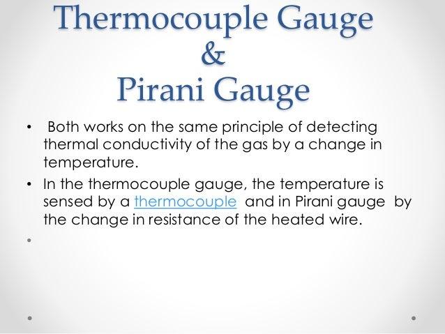 pirani gauge working principle pdf