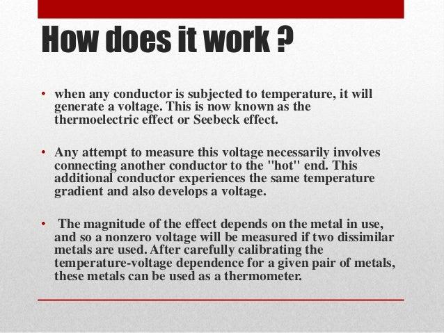 Thermocouple Sensor