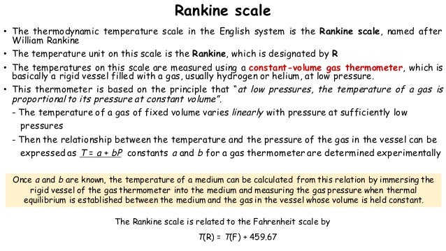 Thermodynamic Properties