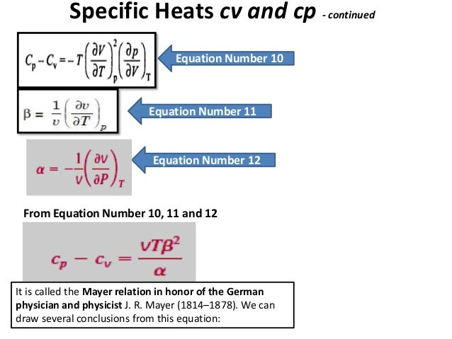 thermodynamic relations  clausius clapreyon equation