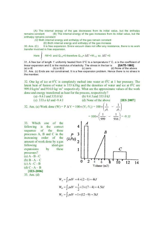 Thermodynamics by s k mondal copy gate 2008 9 ccuart Choice Image
