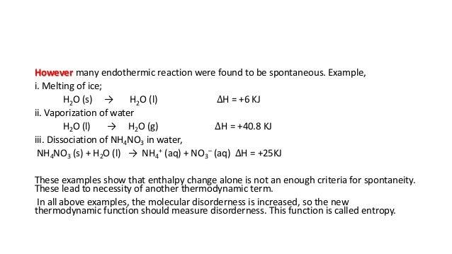 Endothermic Non Examples