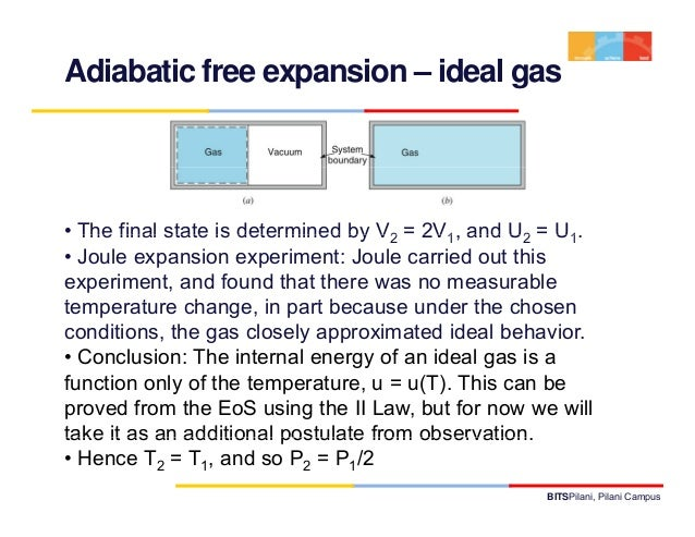 Thermodynamics lecture 8 11 adiabatic free expansion ccuart Gallery