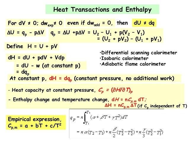 thermodynamics spring 2013
