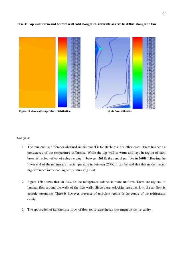 CFD & Thermofluids - Basics of Domestic refrigerator