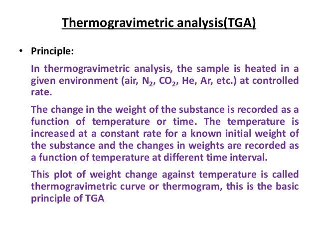 Principles And Applications Of Thermal Analysis Pdf
