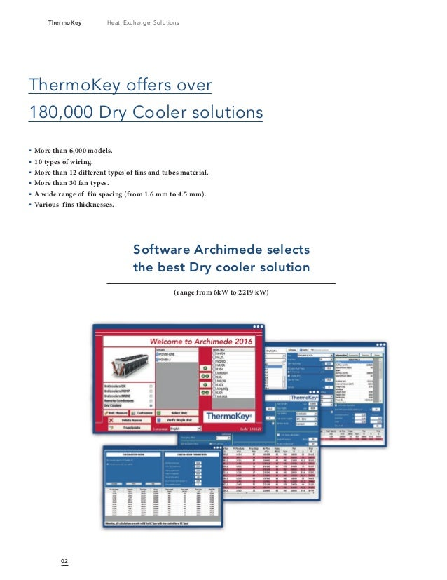 Liquid Dry Coolers : Dry coolers liquid by thermokey