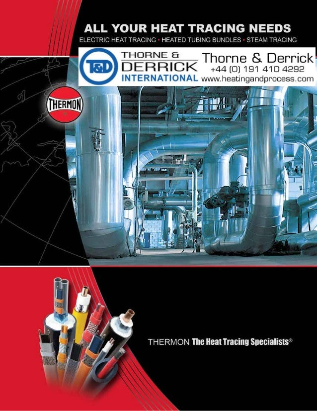 Thermon Heat Tracing Cables Self Regulating Power