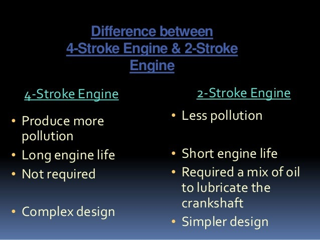 Four stroke petrol engine wahla for What is the difference between motor oils