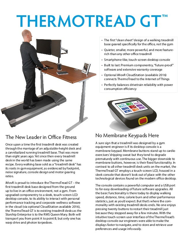 No Membrane Keypads Here A sure sign that a treadmill was designed by a gym equipment engineer is if its desktop console i...