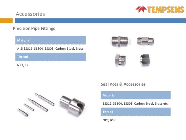 Thermowells & Accessories
