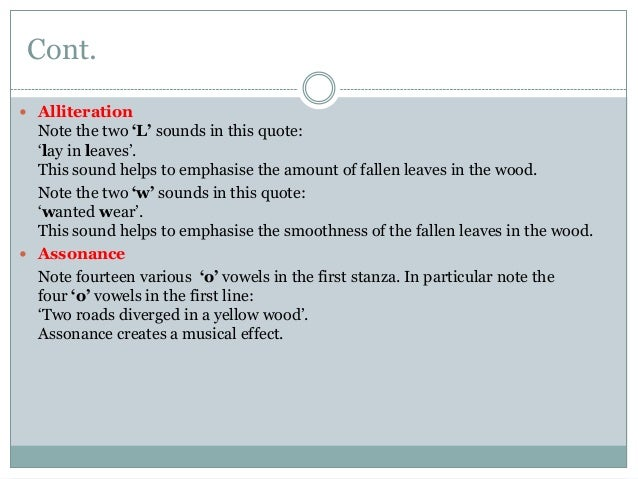 figurative language on the road not taken 06-03-2012  this site might help you re: what figurative language is used in road not taken by robert frost um stuck please give me as much info as u can.