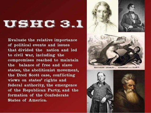 The Road to Civil War (1850-1860) Slide 2