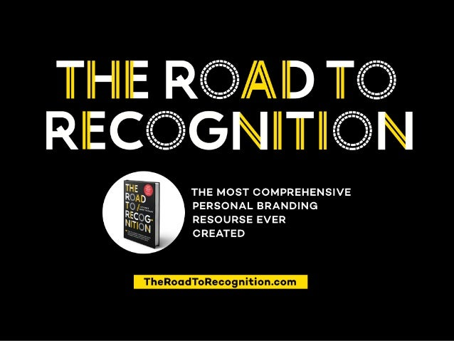 Image result for Image of The Road to Recognition