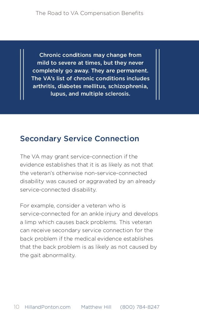 The Road to VA Compensation Benefits 11HillandPonton.com Matthew Hill (800) 784-8247 Service Connection by Aggravation Even...