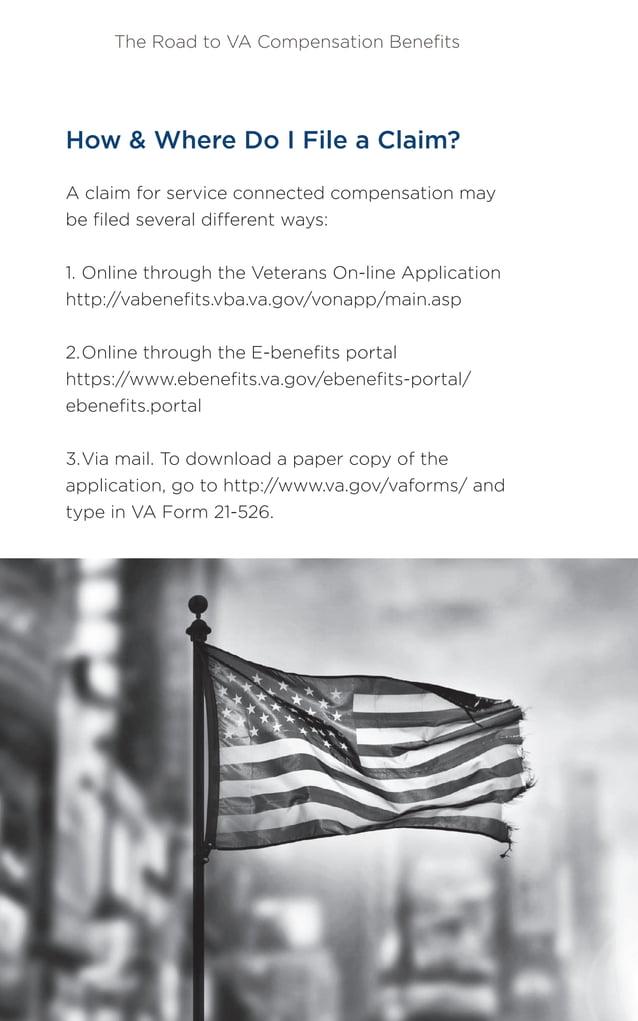 The Road to VA Compensation Benefits 29HillandPonton.com Matthew Hill (800) 784-8247 Claims should be filed with the VA Regi...