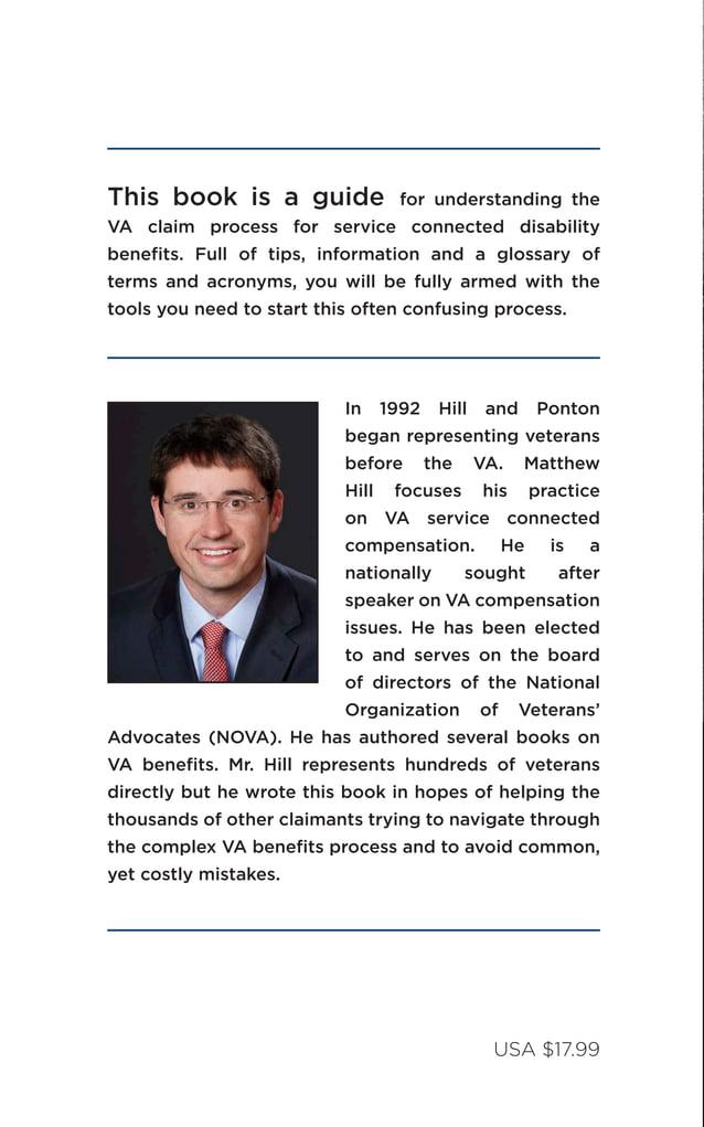 The Road to VA Compensation Benefits