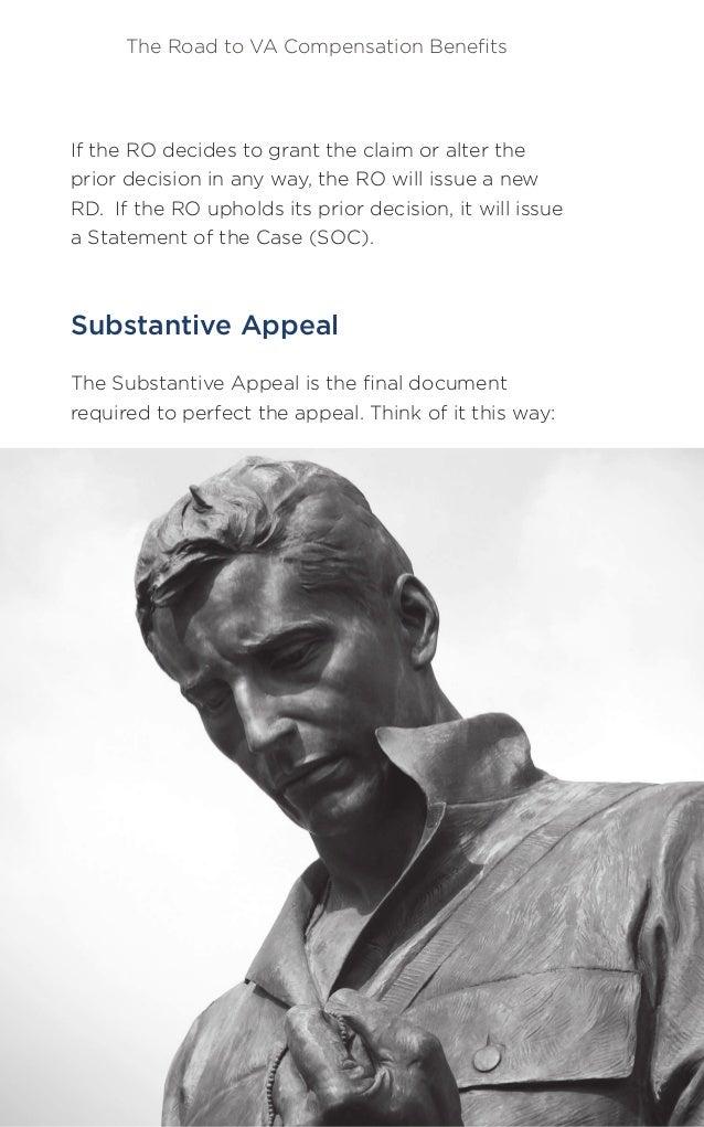 The Road to VA Compensation Benefits 41HillandPonton.com Matthew Hill (800) 784-8247 a NOD initiates an appeal, and the sub...