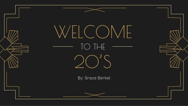● The Roaring Twenties refers to the decade of the 1920's in Western society or Western Culture. ● It was a period in hist...