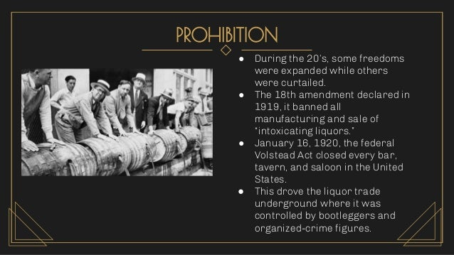 SUPPORT FOR PROHIBITION ● Reformers had long believed alcohol led to crime, child and wife abuse, and accidents. ● Support...