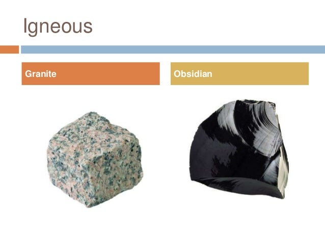 The gallery for --> Obsidian Rock Cycle