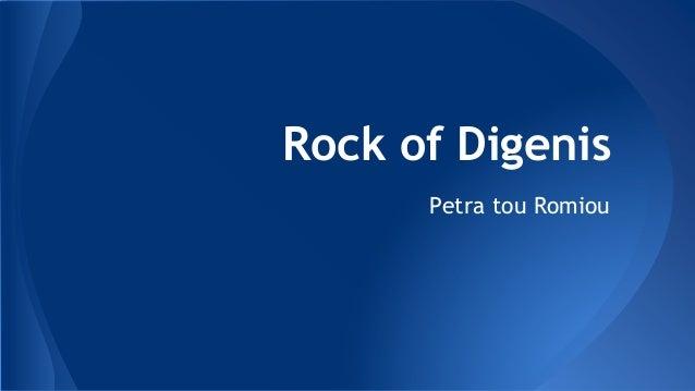 Rock of Digenis Petra tou Romiou