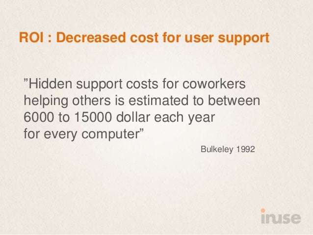 The roi of good user experience  SDC 2013 Slide 12