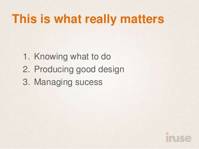 The roi of good user experience  SDC 2013 Slide 24