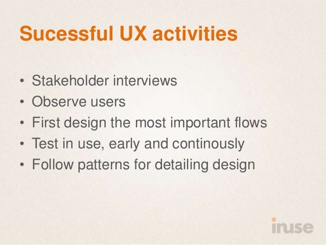 The roi of good user experience  SDC 2013 Slide 8