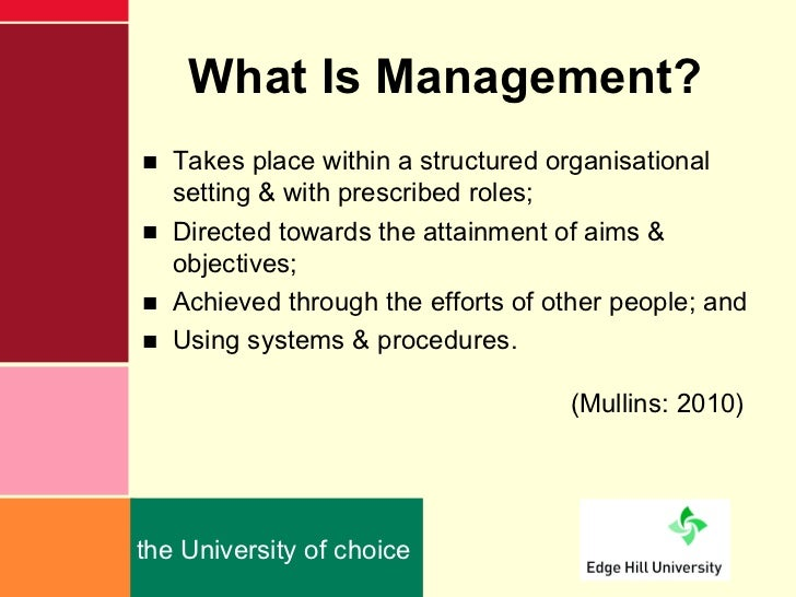 the role of a manager Learn about the role and primary responsibilities of the manager and get some great tips for considerations of a career in management.