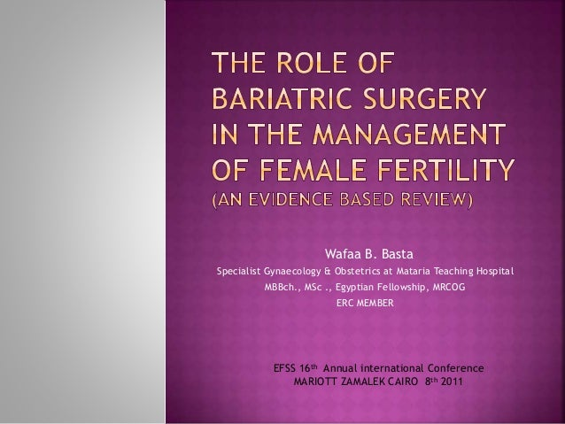 Wafaa B. Basta Specialist Gynaecology & Obstetrics at Mataria Teaching Hospital MBBch., MSc ., Egyptian Fellowship, MRCOG ...