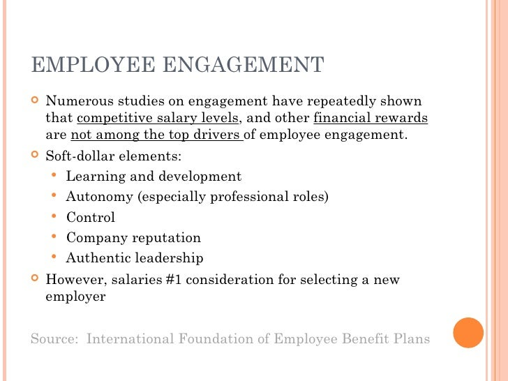 role of employee engagement on employee Serena borghero explores the links between employee engagement and workplace design and offers some advice on using design as a business tool.