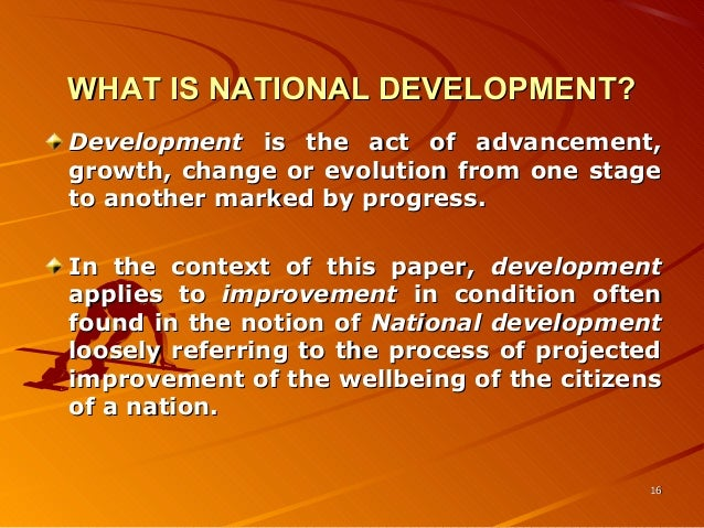national development Education and national development: a comparative perspective [ingemar  fagerlind] on amazoncom free shipping on qualifying offers in this second.