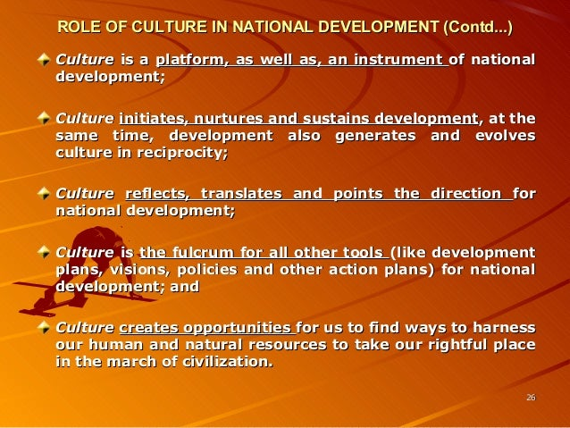 role of culture Men as cultural ideals 1 running head: men as cultural ideals men as cultural ideals: how culture shapes gender stereotypes amy.