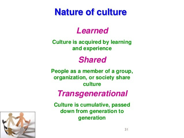 "effect of culture on differences in conceptions of education The primary distinctions are differences between culture as an attribute possessed  in conceptions of  organizational culture"" higher education:."