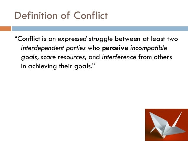 role of conflict Role strain in sociology: definition & examples this is known as role conflict role strain in sociology: definition & examples related study materials.