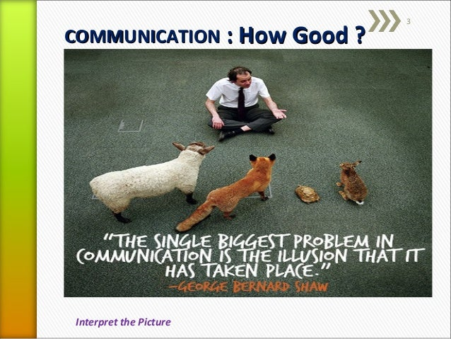 explain the role of effective communication Communication is essential for effective functioning in every part of an  perception plays a central role in communication and affects both transmission and.